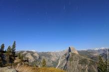 Half dome trails
